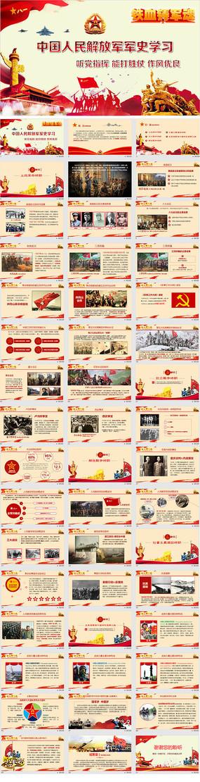 中国人民解放军军史学习PPT