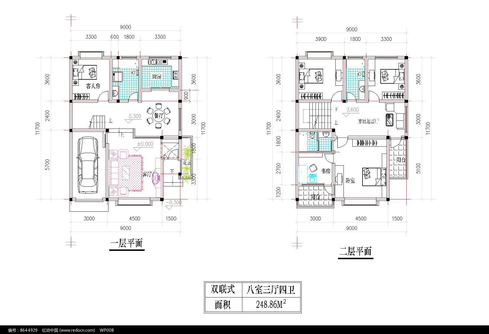 中型别墅设计图片