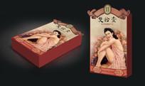 复古老上海成人用品包装设计 CDR