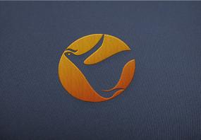 楚文化火凤凰标志logo