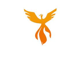 凤凰火凤凰标志logo元素
