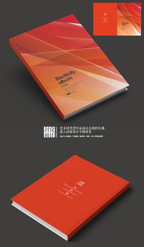 科技IT企业宣传画册封面 PSD