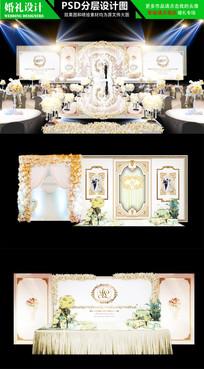 金色欧式豪华婚礼设计