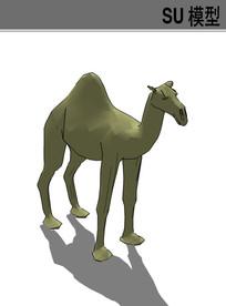 3D动物骆驼SU模型