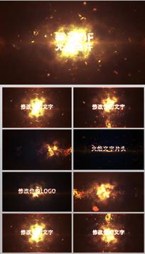 AECC震撼火焰片头展示视频