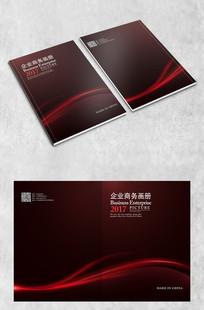 红色商务封面