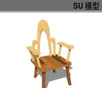 日式个性椅子模型