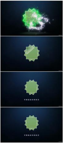 震撼大气电流能量Logo动画