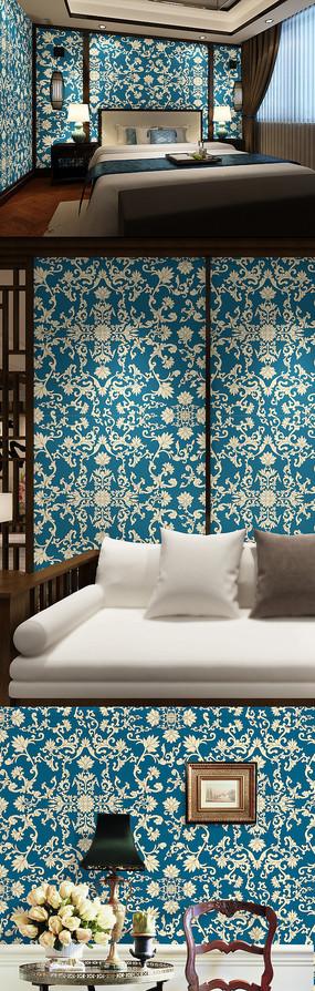 抽象花纹图案墙纸纹理