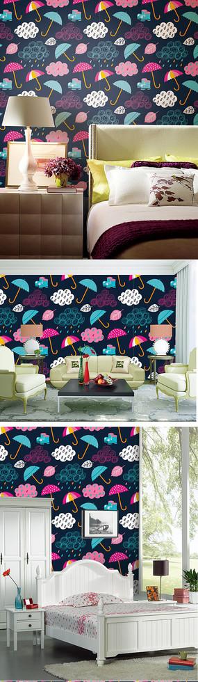 抽象花纹图案墙纸纹理墙纸