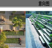 木平台广场景观意向 JPG