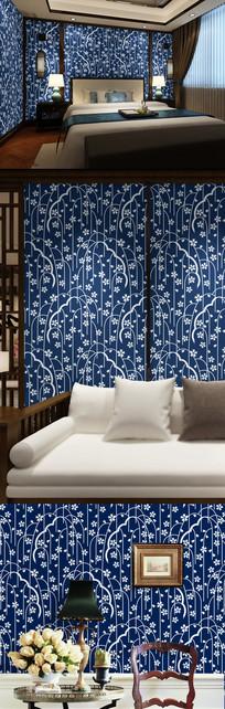 中式传统花纹背景图案