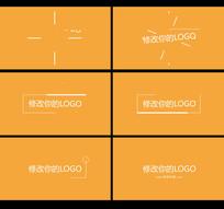 MG扁平企业标志动画AE模板