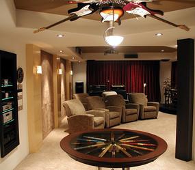 别墅室内影院设计