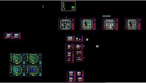 别墅新中式设计cad施工图