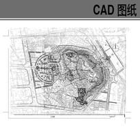 福州某公园景观设计方案平面