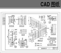 钢制楼梯大样施工图