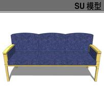 简洁沙发模型