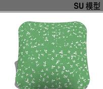 日式风格抱枕模型