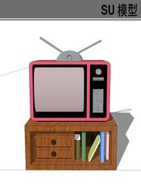 小巧电视柜模型