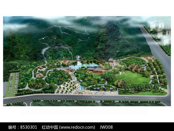 浙江某儿童公园景观效果图图片
