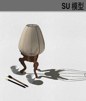 中式烛台灯具