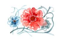 装饰花纹插画