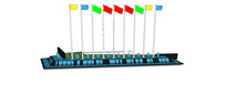 广场草坪水景墙模型 skp
