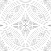 花纹雕刻图案