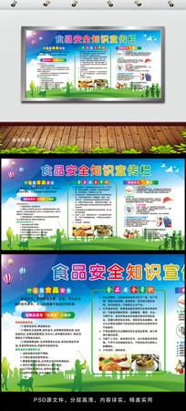 食品安全知识宣传栏设计
