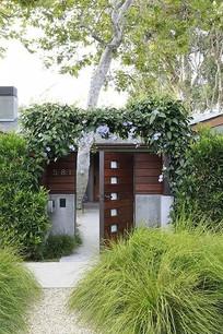 别墅院门设计 JPG