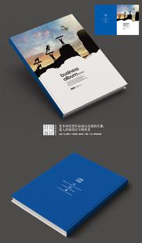 服务手册创意封面设计