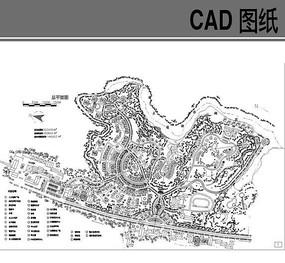 花园小区规划总平面图