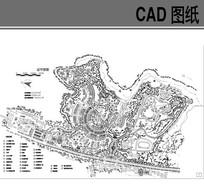 花园小区规划总平面图 dwg