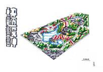绿地手绘效果图 JPG