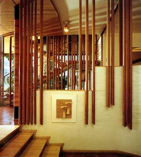 玛利亚别墅之楼梯景墙