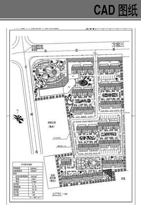 某住宅小区平面图 dwg