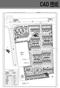 某住宅小区平面图
