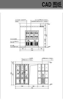 室内柜子CAD立面图