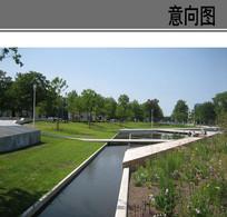 线性个性公园景观意向 JPG