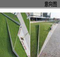 线性实景照片景观意向 JPG