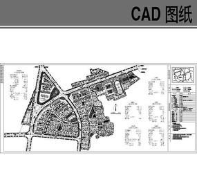 小区规划平面CAD