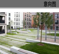 学校休闲景观意向 JPG