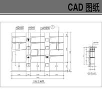 展示柜书柜CAD