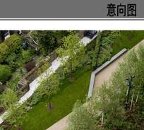住宅线性景观意向 JPG