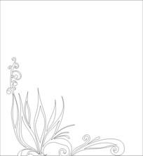 花草雕刻图案