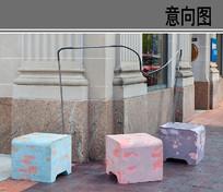 景观创意坐凳 JPG