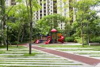 居住区儿童游乐场地铺装