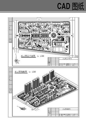 某小区规划设计图纸