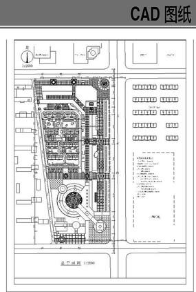 某小区规划图CAD